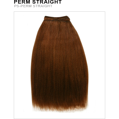 Unique's Human Hair Perm Straight 14 Inch - BeautyGiant USA