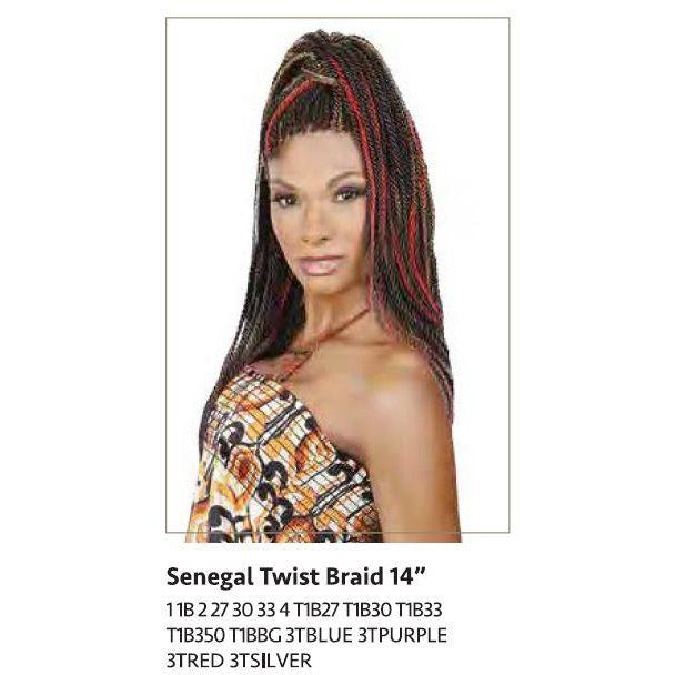 "Linda - Senegal Twist Braid 14"" - BeautyGiant USA"