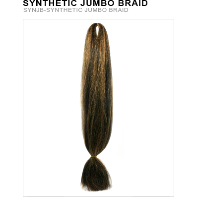 Unique's Synthetic Jumbo Braid - VIP Extensions