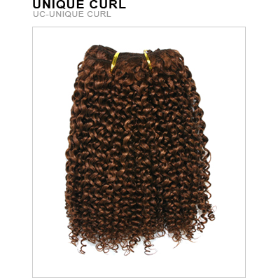 Unique's Human Hair Unique Curl 16''