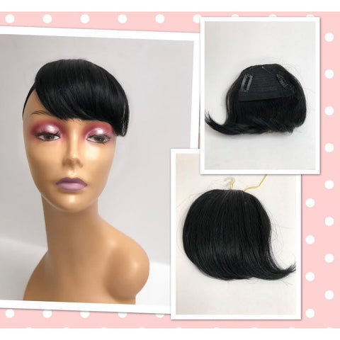 Unique 100% Human Hair Bang Piece