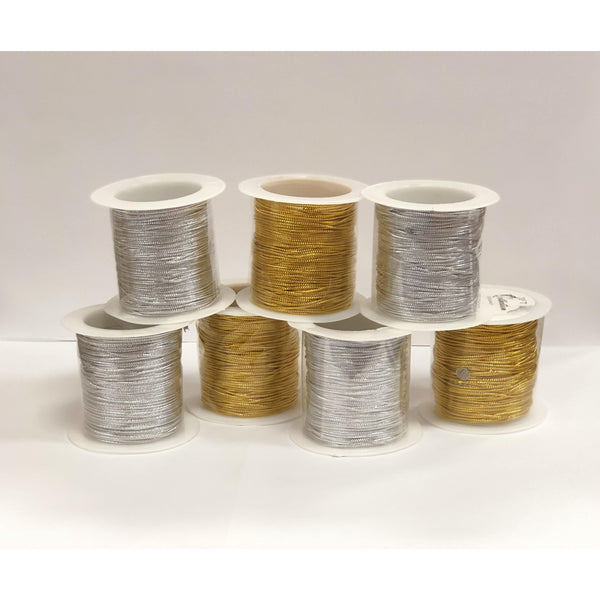 BRAID ROPE 30FT GOLD/SILVER - BeautyGiant USA