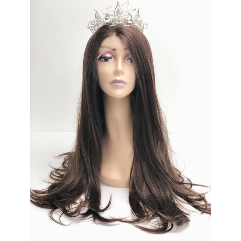 Lace Front Wigs Synthetic Wig Half Hand Tied Replacement Full Wig - BeautyGiant USA
