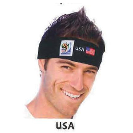 2010 Official Fifa Soccer Head Bands - VIP Extensions