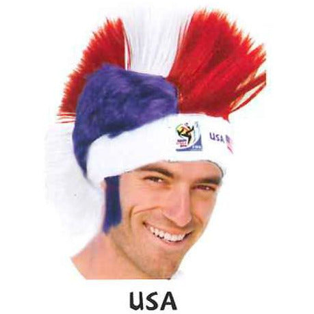 2010 Official FIFA Soccer Mohawk Wig - VIP Extensions