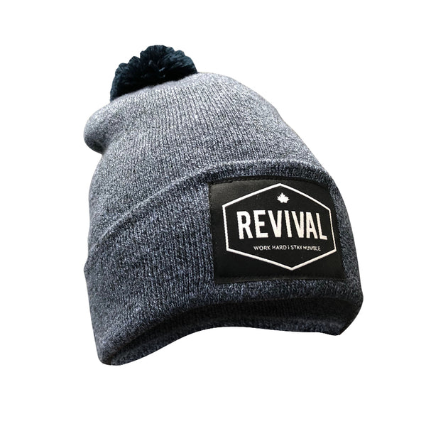 Ascent Toque - Navy Blue