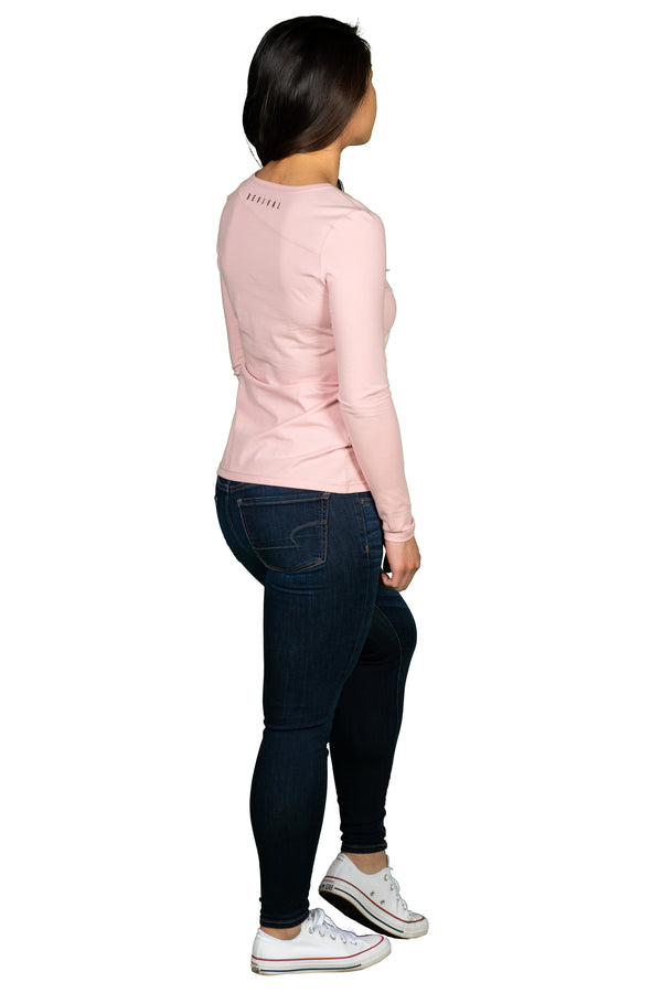 Absolute - Women's Long Sleeve - Blush/Black