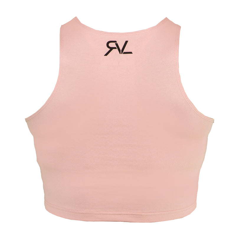 Unrestricted - Women's Crop Top - Blush/Black