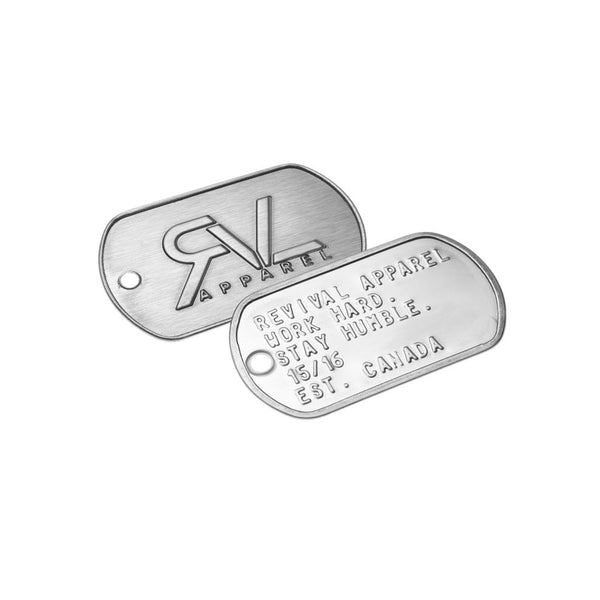 Signature - Military Dog Tags
