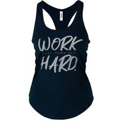 Approach - Women's Tank - Navy/Grey