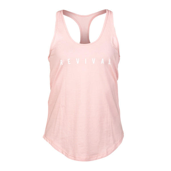 Definition - Women's Tank - Blush/White