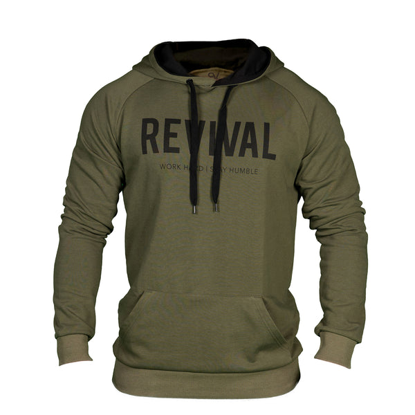 Training Pullover - Military Green/Black