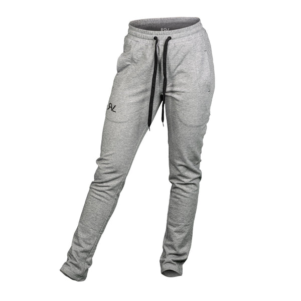 Essential - Sweat Pants - Heather Grey/Black