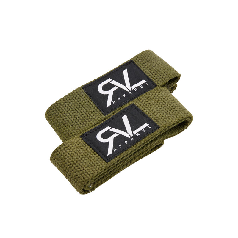Signature Lifting Straps - Military Green