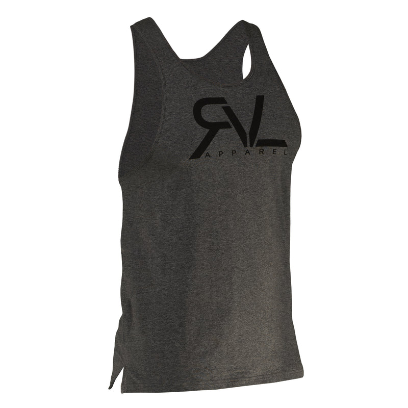 Signature - Men's Tank - Dark Heather Grey/Black