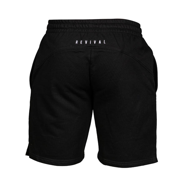 Essential Sweat Shorts - Black/White