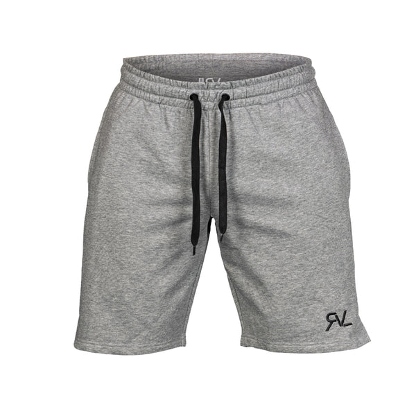 Essential - Sweat Shorts - Heather Grey/Black