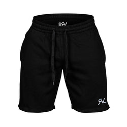 Essential - Sweat Shorts - Black/White