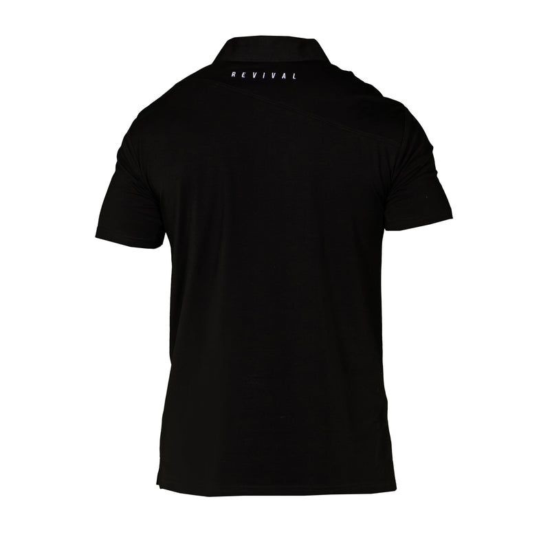 Absolute - Men's Polo - Black/White