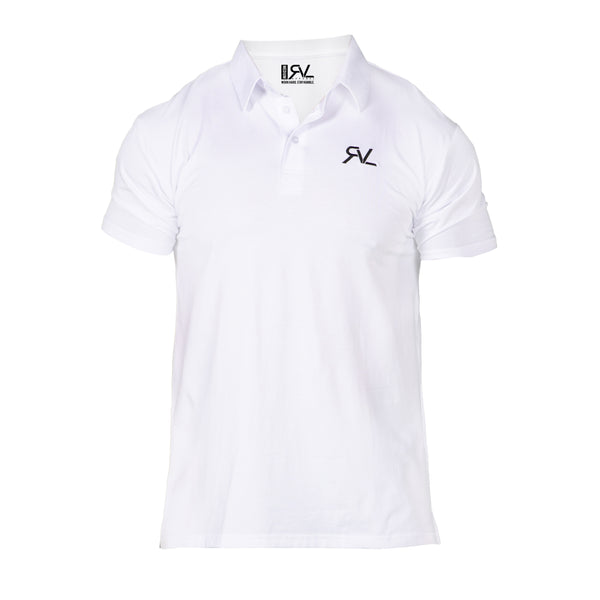 Absolute - Men's Polo - White/Black