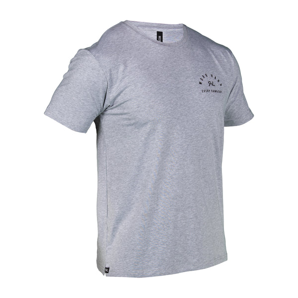 Algorithm - T-Shirt - Heather Grey/Black