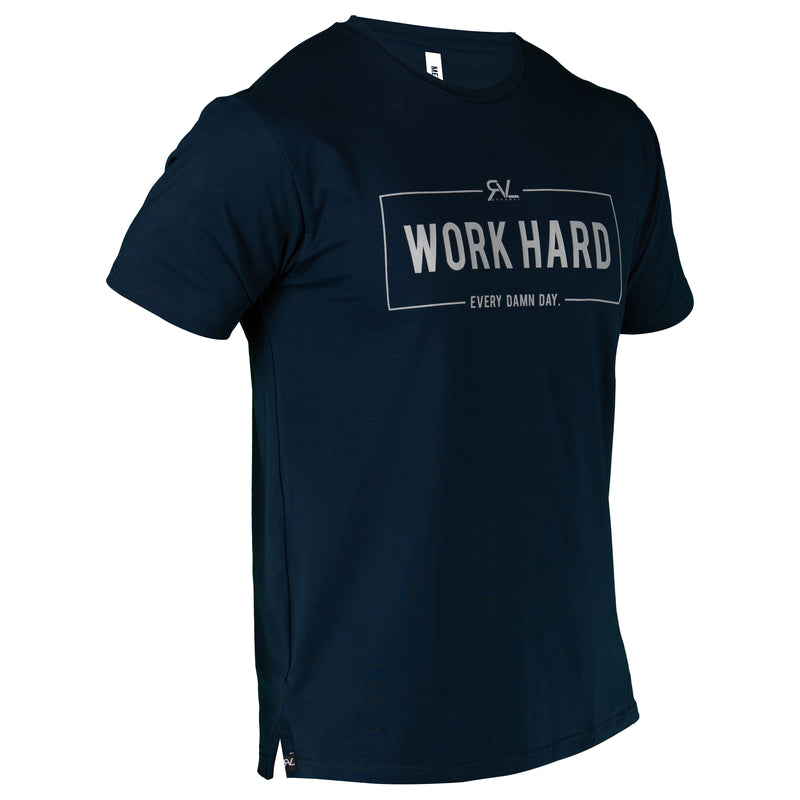 Breakthrough - T-Shirt - Navy/Grey