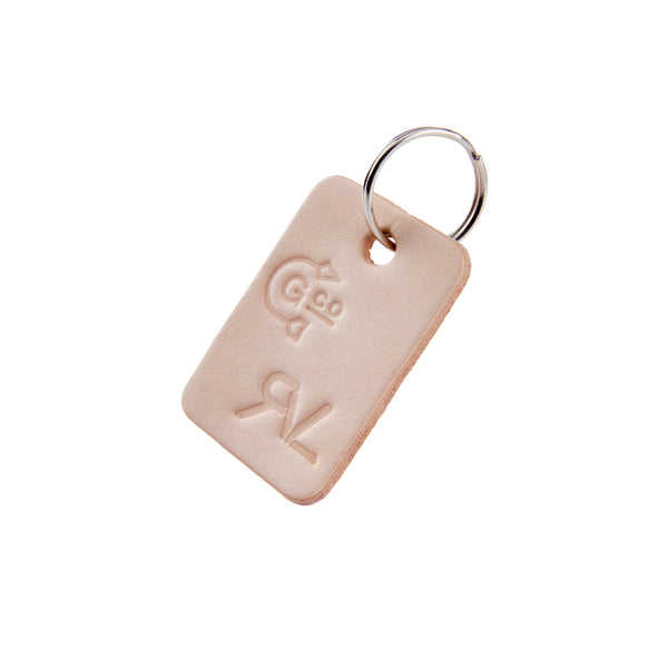 Escape Key Tag - Natural Tan