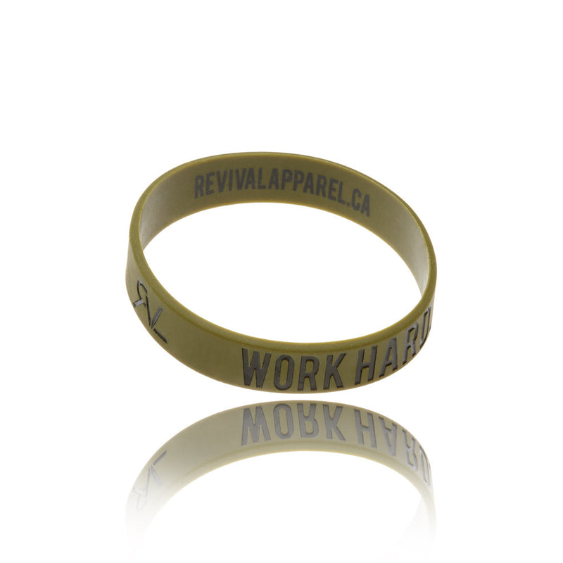 The Motto - Bracelet - Military Green/Black