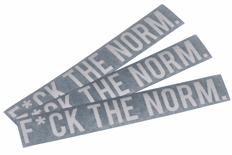F*CK THE NORM - Decal