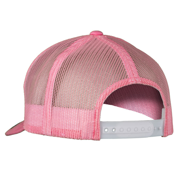 The Trucker - Pink/White