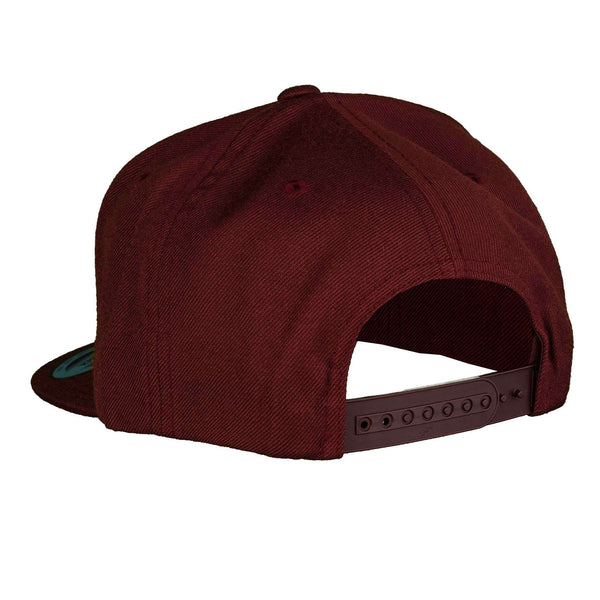 The Original - Snapback - Maroon/White