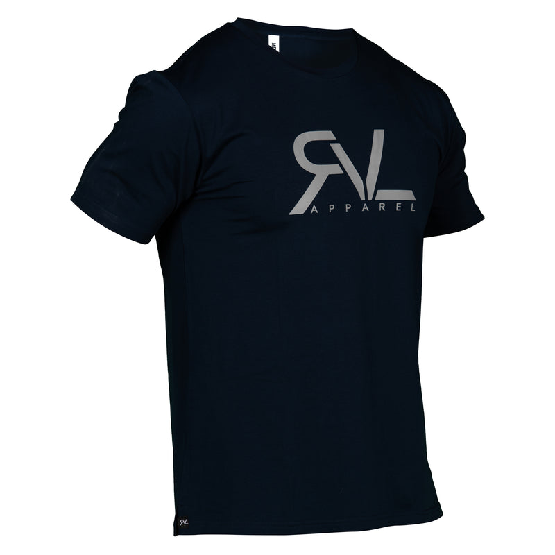 Signature - T-Shirt - Navy/Grey