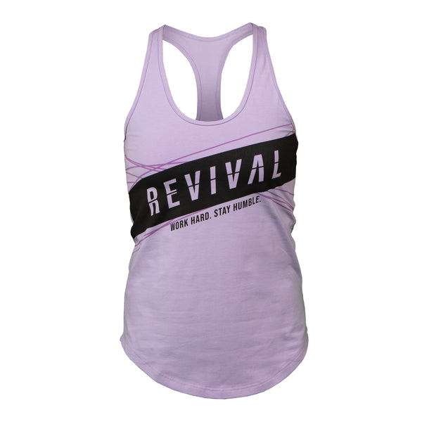 Breakout - Women's Tank - Purple/Black
