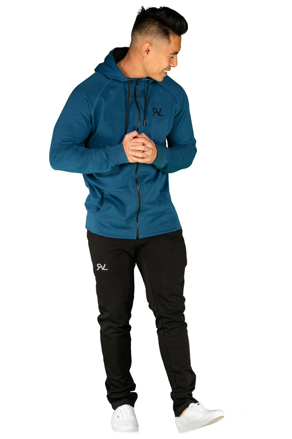 Endurance Zip Up  - Indigo