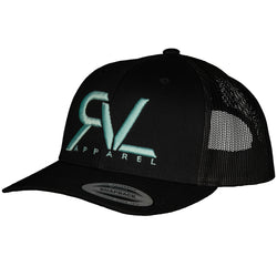 The Original - Trucker - Black/Teal