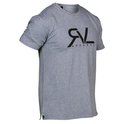 Signature - T-Shirt - Heather Grey/Black