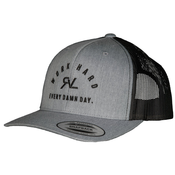 Algorithm - Trucker - Heather Grey/Black - 2 Tone