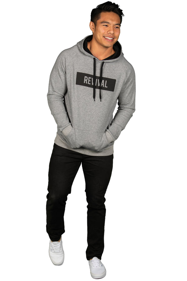 Undivided - Hoodie - Heather Grey/Black