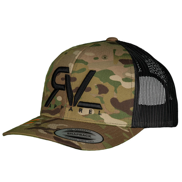 The Original - Trucker - Desert Camo/Black