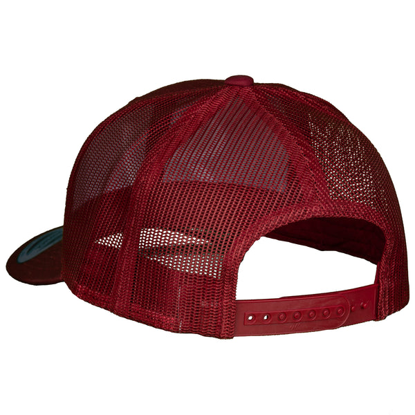 The Original - Trucker - Maroon/White