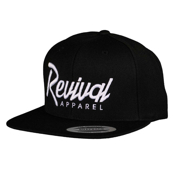 Trademark - Snapback - Black/White