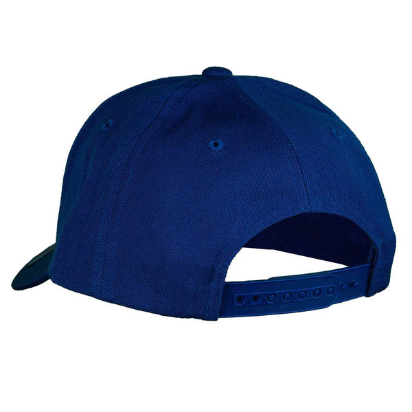 Parallel -  Curved Brim - Royal Blue/White