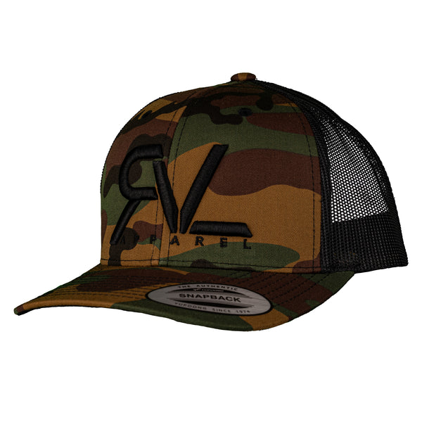 The Original - Trucker - Camo/Black