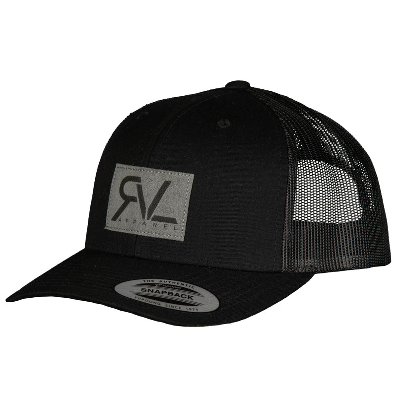 Emblem - Trucker - Black/Dark Grey