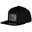 Emblem - Snapback - Black/Dark Grey