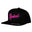Miami Nights - Snapback - Black/Pink - Retro