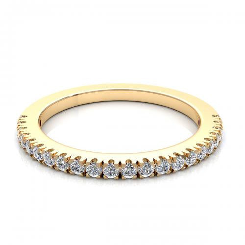 Diamond Band 18K Gold