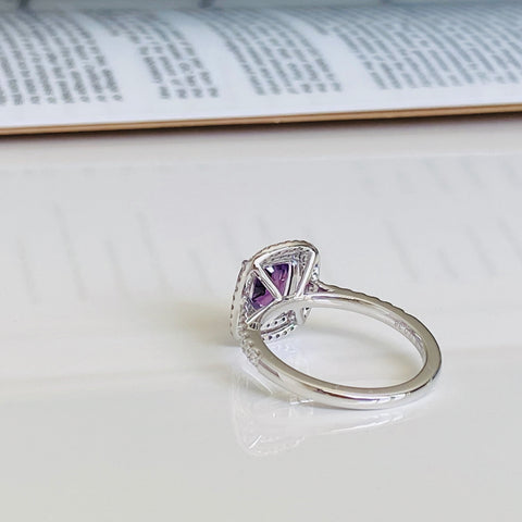 purple+sapphire+engagement+ring+white+gold+online+australia