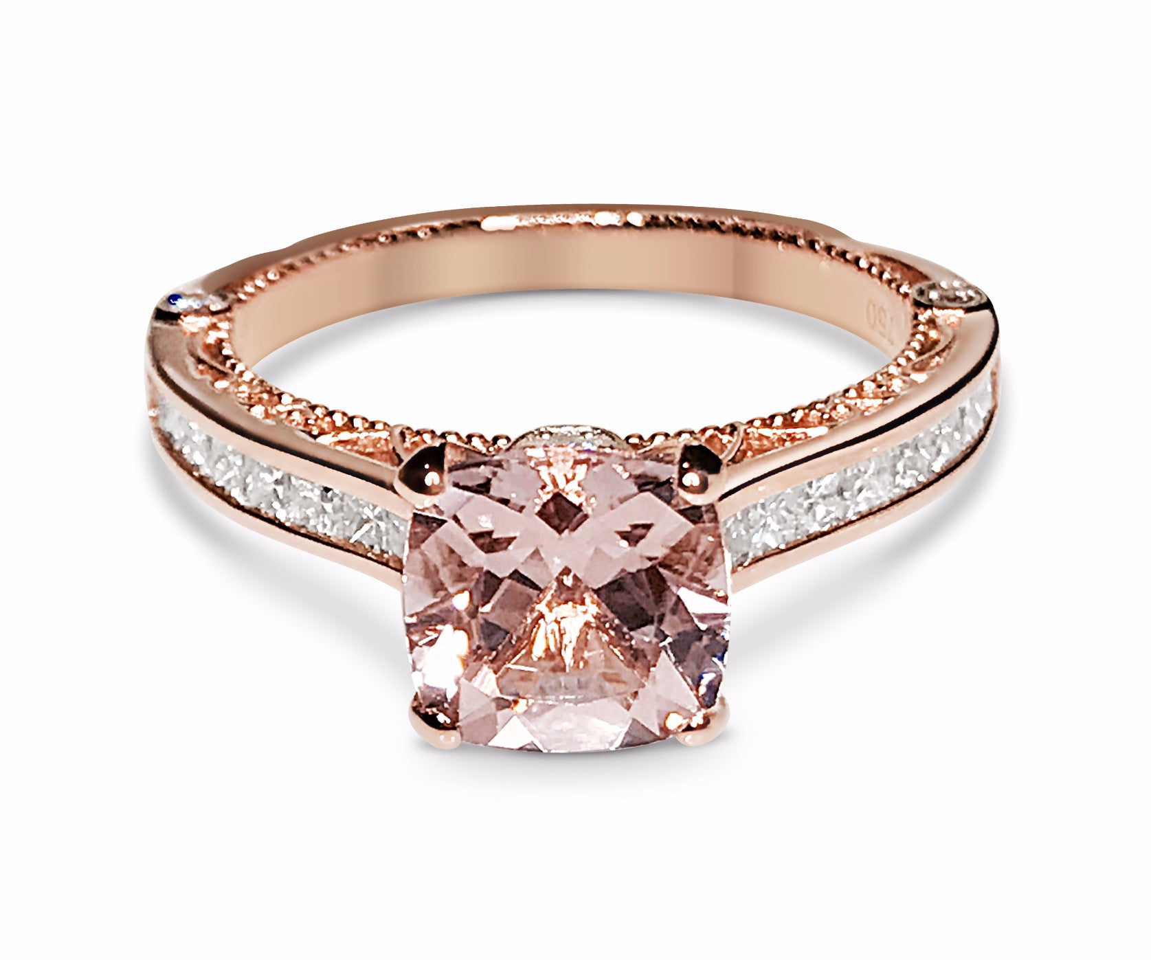 jewelry goldtone gold rings ring amazon carat cut dp engagement rose blush com oval cz