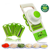 Creative Peeler Grater Vegetables Cutter Tools Set with 5 Blade